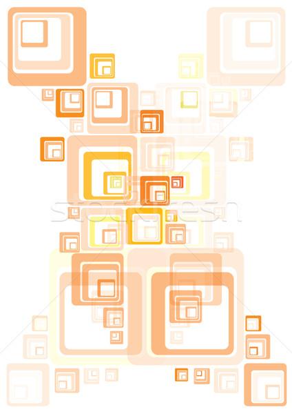 Moda dekoracji tekstury sztuki retro wzór Zdjęcia stock © stoyanh