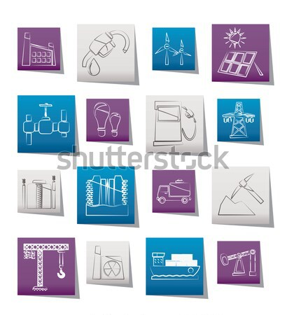 Army, weapon and arms Icons Stock photo © stoyanh