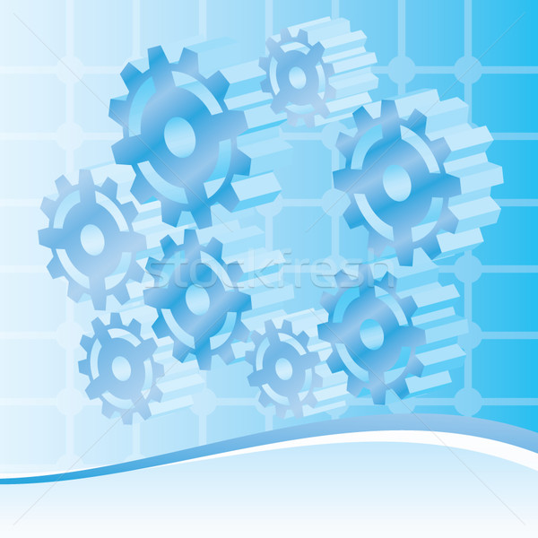 Mechanical, engineering and technology Background  Stock photo © stoyanh