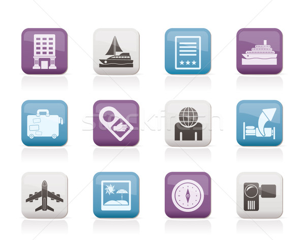 Travel, vacation and holidays icon  Stock photo © stoyanh