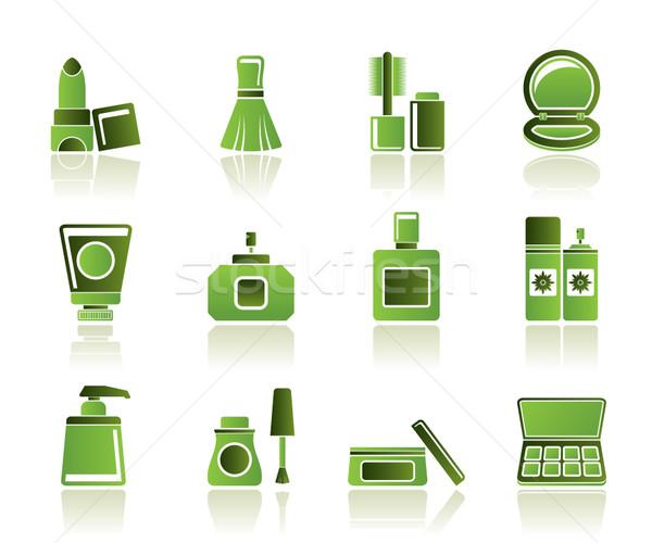 Zdjęcia stock: Kosmetycznych · przemysłu · piękna · ikona · wektora