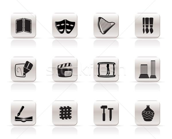 Art Icons Stock photo © stoyanh