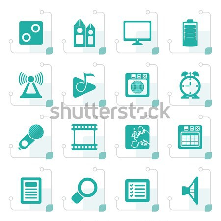 Computer Games tools and Icons  Stock photo © stoyanh