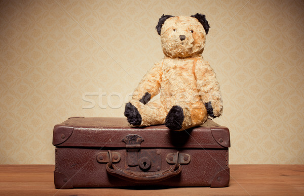 Childhood Nostalgia Teddy Bear Stock photo © stryjek