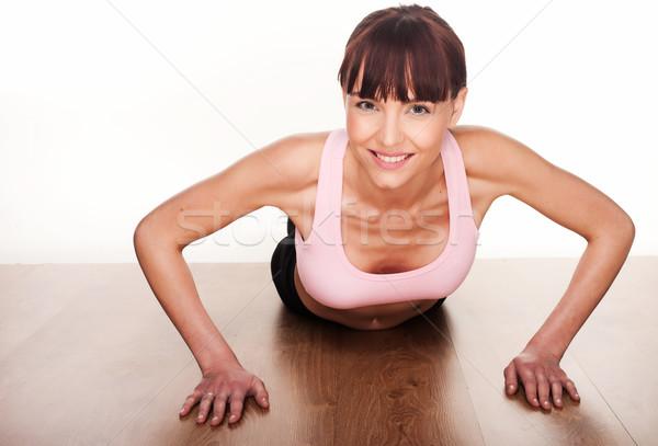 Woman Working Out Stock photo © stryjek