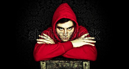hip-hop man Stock photo © stryjek