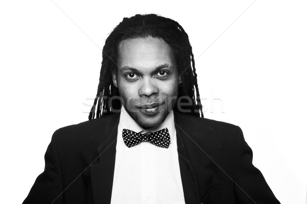 businessman wearing suit jamaica Stock photo © stryjek