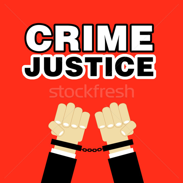 crime justice Stock photo © stryjek