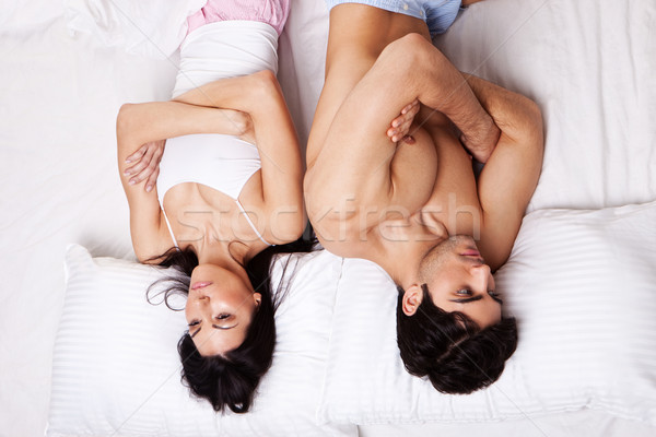 Angry Couple Following Argument Stock photo © stryjek