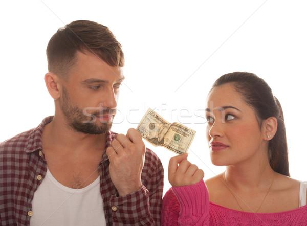 двадцать доллара банка сведению Сток-фото © stryjek