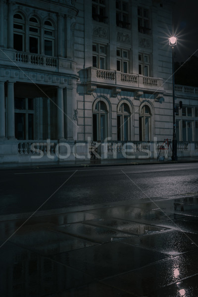 Low angle view of impressive classical building Stock photo © stryjek