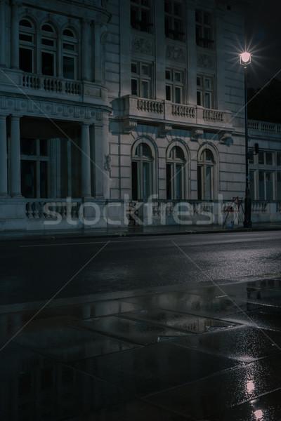 Ver impressionante clássico edifício Foto stock © stryjek