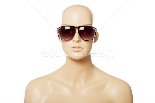 Mannequin wearing fashion sunglasses Stock photo © stryjek