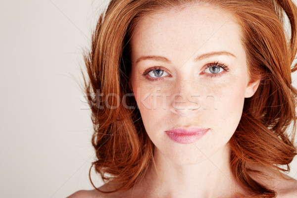 Sad Wistful Woman Stock photo © stryjek