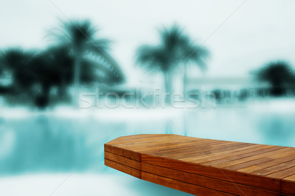 residence with swimming pool Stock photo © stryjek