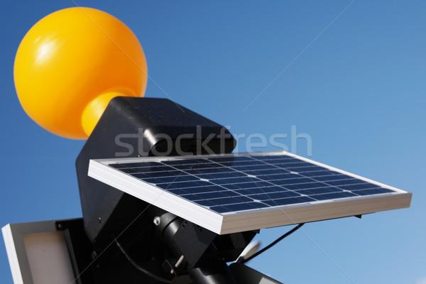 Close up Modern Solar Panel Technology Stock photo © stryjek