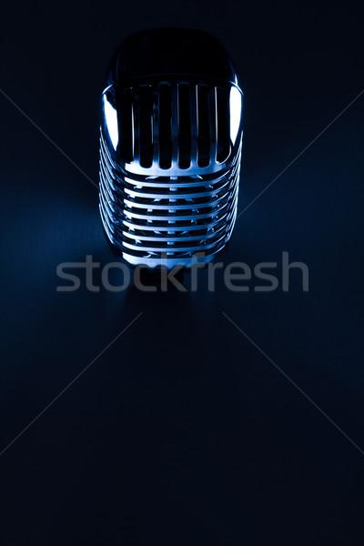 Retro Mic Stock photo © stryjek