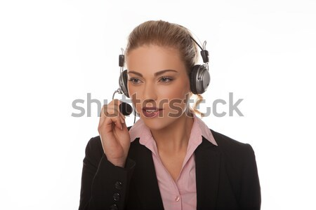 Call center operator Stock photo © stryjek
