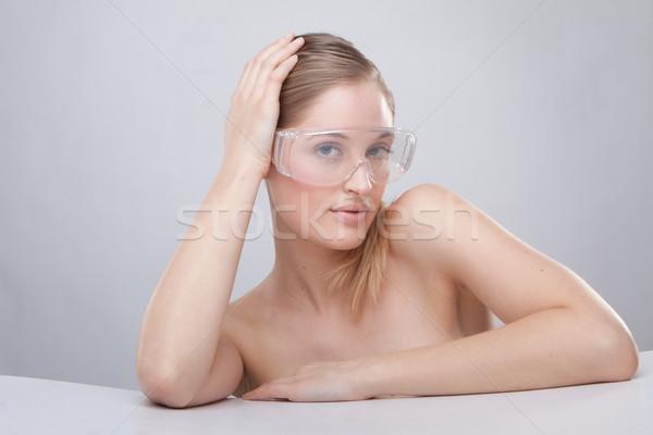 plastic protective goggles Stock photo © stryjek