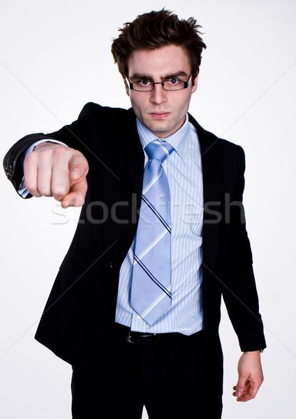 mobbing at work Stock photo © stryjek