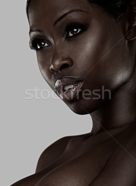 Portrait of an African beauty Stock photo © stryjek