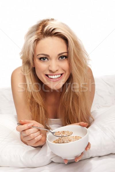 Zdjęcia stock: Piękna · zdrowych · śniadanie