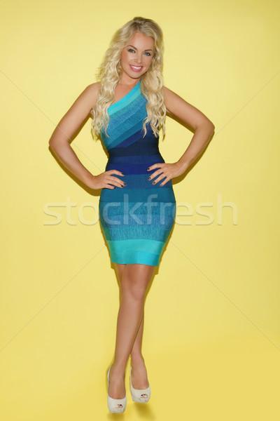 beautiful young woman Stock photo © stryjek
