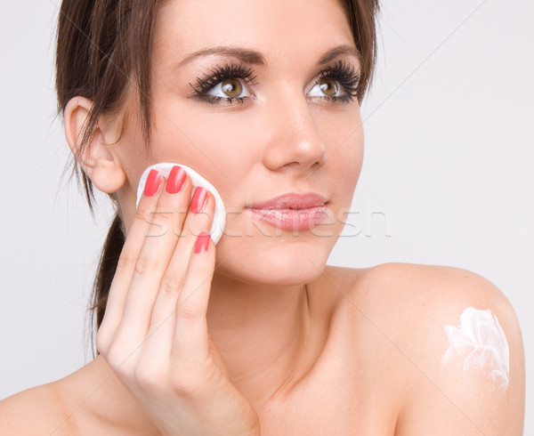 beauty face Stock photo © stryjek