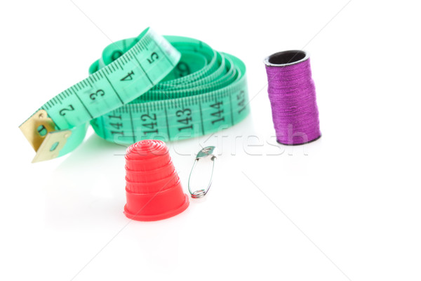 Sewing kit with accessories Stock photo © stryjek