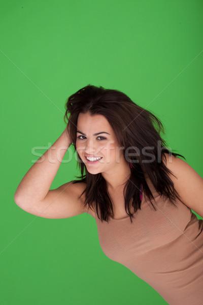 Cheeky Sexy Wild Woman Stock photo © stryjek