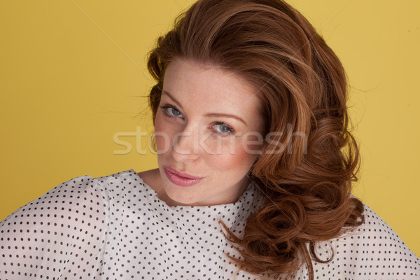 Woman Giving Skeptical Look Stock photo © stryjek