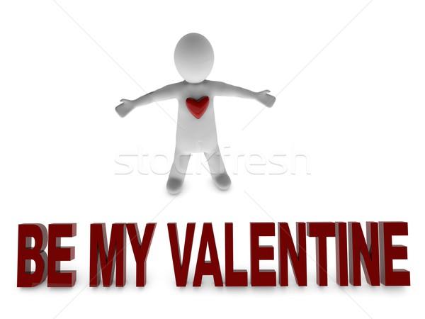 be my valentine Stock photo © stryjek