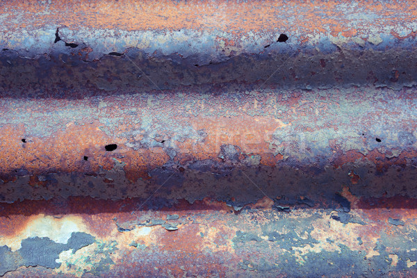 Ruggine metal texture arrugginito carta texture muro Foto d'archivio © stryjek