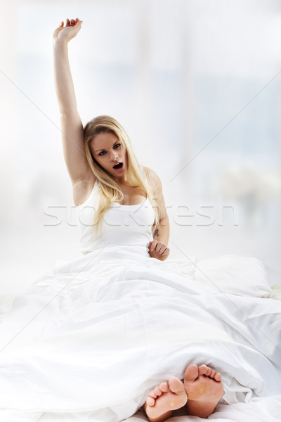 waking up Stock photo © stryjek