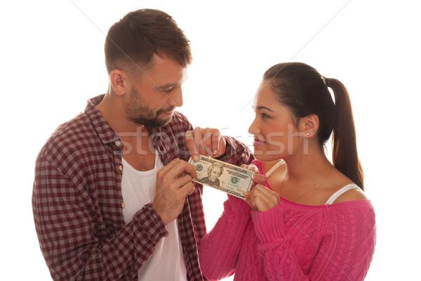 Vinte dólar banco nota Foto stock © stryjek
