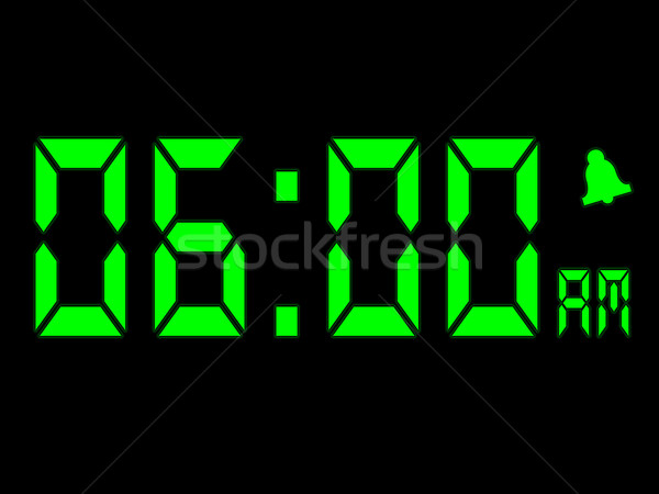 Early Morning Alarm Call At Six AM Stock photo © stuartmiles