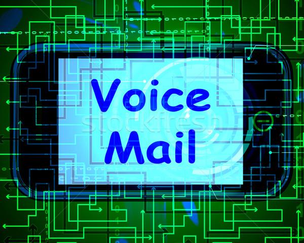 Voz e-mail telefone falar Foto stock © stuartmiles