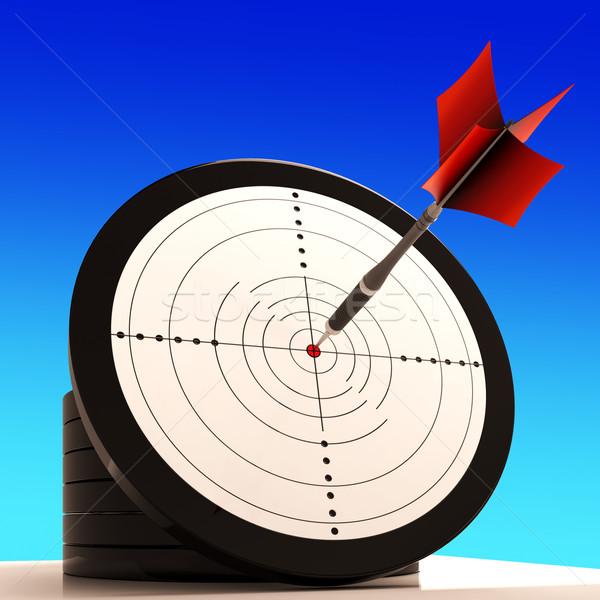 целевой победа стратегия идеальный мастерство Сток-фото © stuartmiles