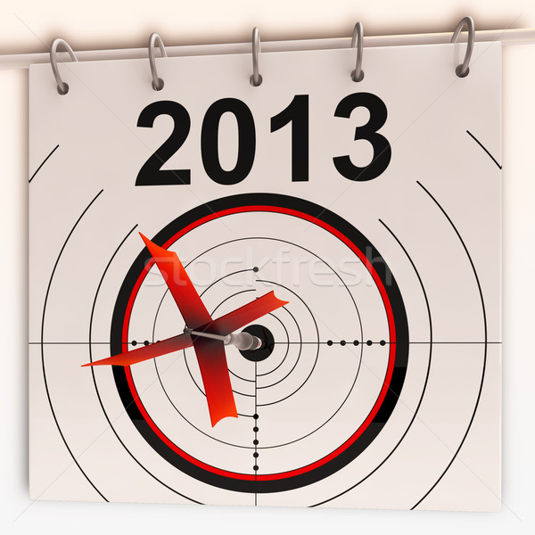 2013 Target Shows Profit And Growth Forecast Stock photo © stuartmiles