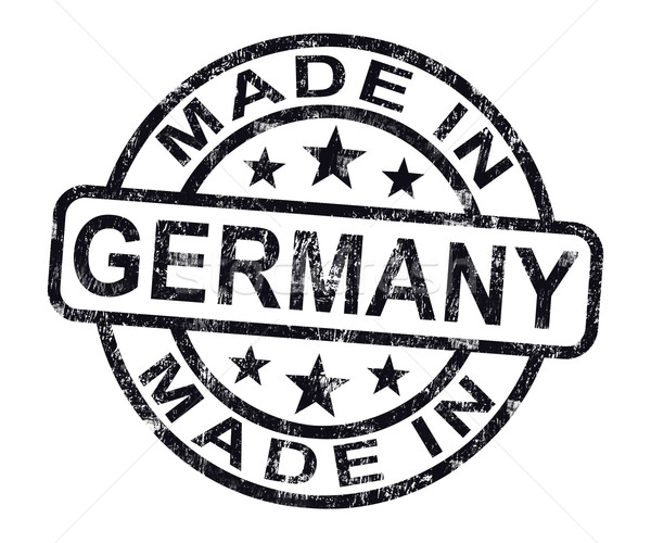 Germania timbro prodotto produrre Foto d'archivio © stuartmiles