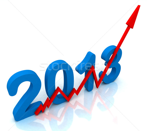 2013 Red Arrow Shows Sales For Year Stock photo © stuartmiles