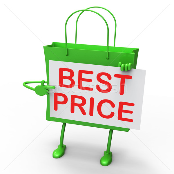 Best Price Bag Represents Bargains and Discounts Stock photo © stuartmiles