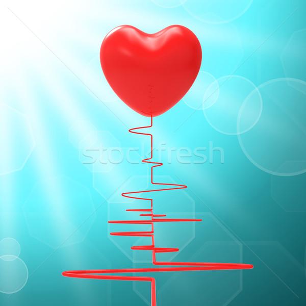сердце здорового отношения страстный смысл брак Сток-фото © stuartmiles