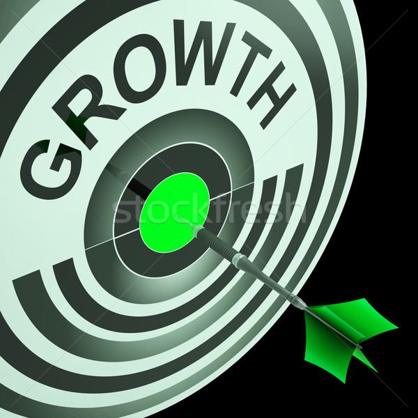 Growth Means Get Better, Bigger And Developed Stock photo © stuartmiles