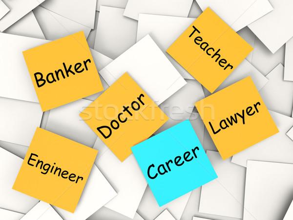 キャリア 注記 職業 雇用 フィールド ストックフォト © stuartmiles