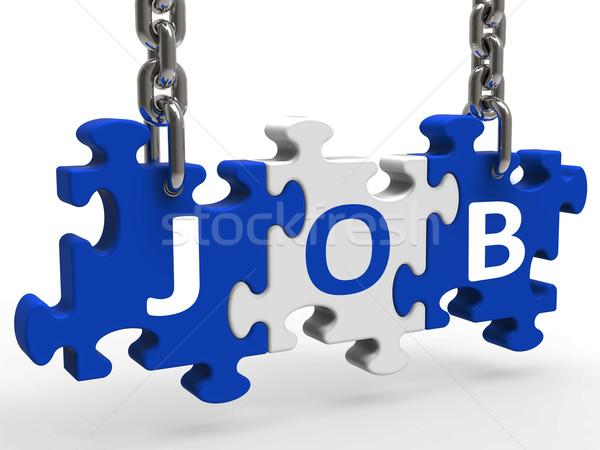 головоломки применение вербовка занятость Сток-фото © stuartmiles