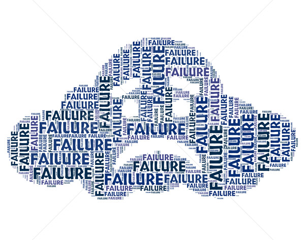 провал слово отсутствие успех поражение смысл Сток-фото © stuartmiles