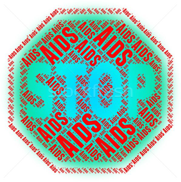 停止 補助 症候群 制御 人間 ウイルス ストックフォト © stuartmiles