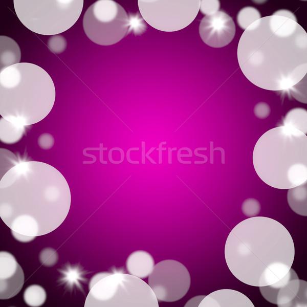 розовато-лиловый bokeh копия пространства полный границе Сток-фото © stuartmiles