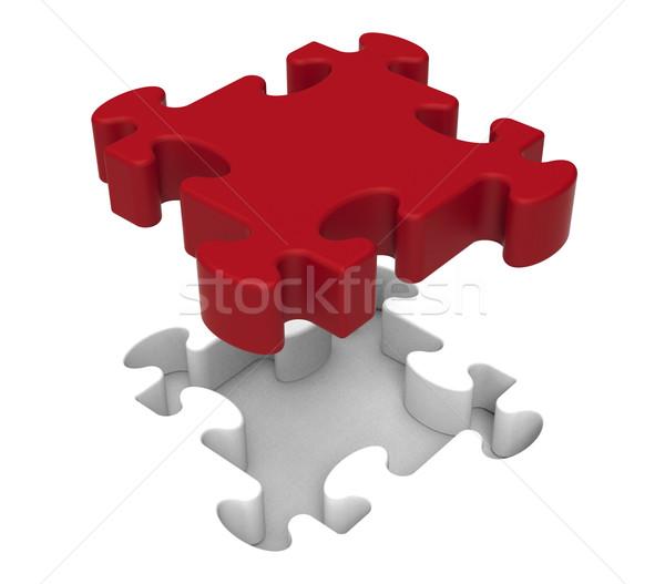 Pieza individual objeto problema Foto stock © stuartmiles